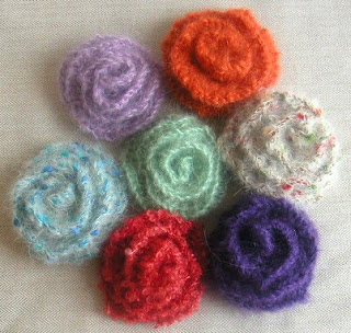 Small Flower Knitting Pattern : FREE KNITTING PATTERNS FOR SMALL FLOWERS   KNITTING PATTERN
