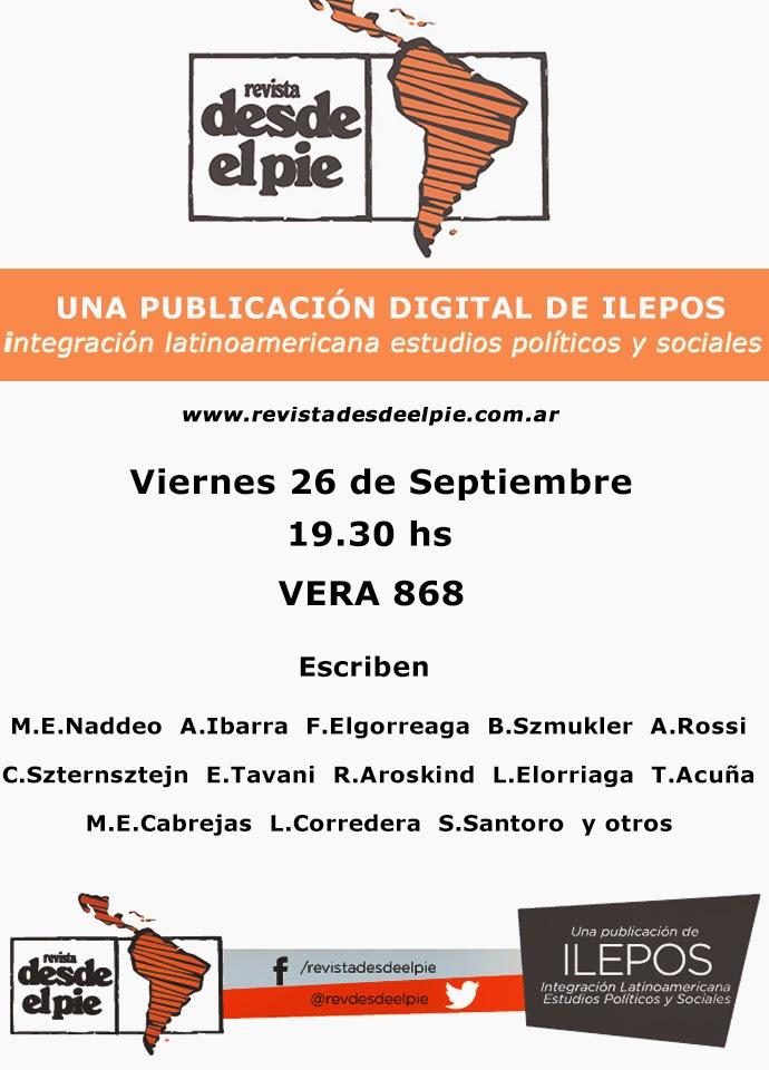 REVISTA DESDE EL PIE PUBLICACIÓN DE ILEPOS