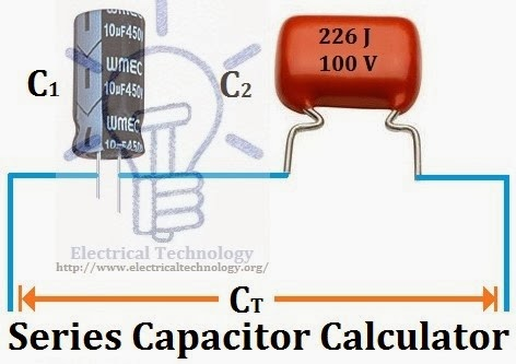 series capacitor calculator