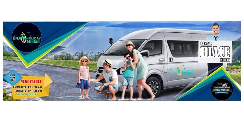 Rental Hiace Medan - Rental Toyota Hiace Medan - Rental Hiace Premio Medan