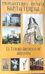 INVITACIÓN  MUSEO DE ARTE VIRREINAL DE SANTA TERESA .CALLE MELGAR 303, DE  9 A 17 HRS