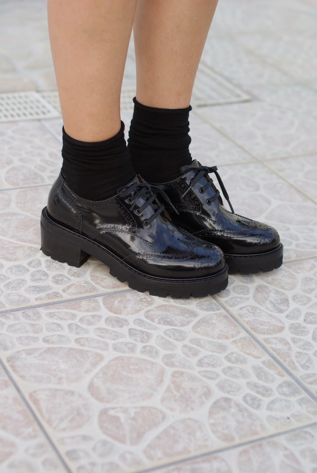 Nando Muzi brogues, patent leather brogues, Fashion and Cookies, fashion blogger