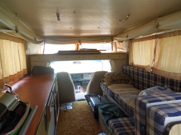 Daily Turismo: 5k: Pop Up Style: 1976 Toyota Chinook Camper
