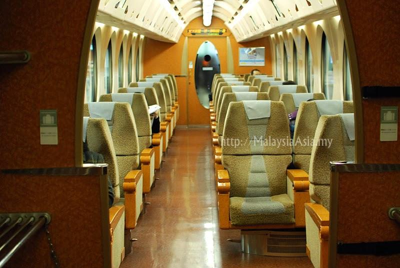 Nankai Airport Line Train interior