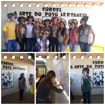 PROJETO LITERATURA DE CORDEL: um encontro com os poetas populares.