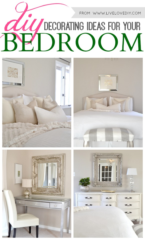 Livelovediy diy decorating ideas for your bedroom Diy master bedroom makeover