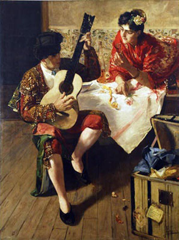 Emilio Sala Francés, Galanteo, Pintor español, pintores españoles
