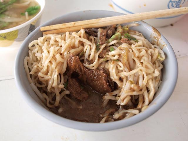 台南西港蓮華素食(菜粽) 麻醬麵