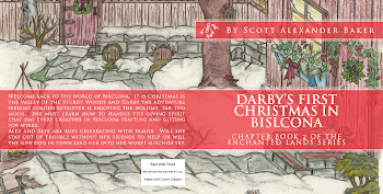 Click the text or link to buy Darby's First Christmas in Bisclona