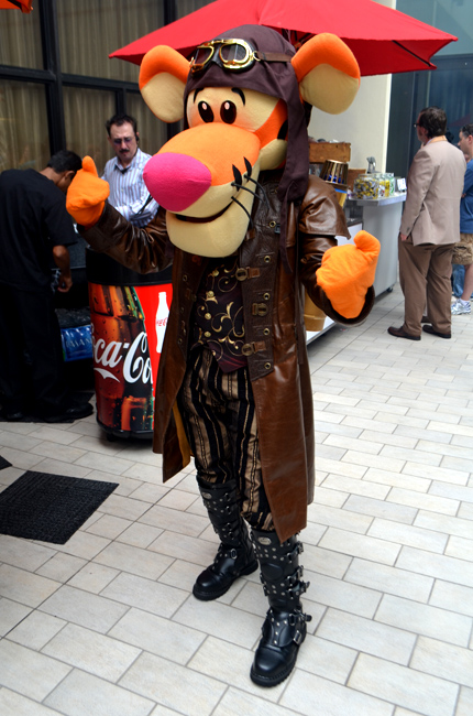 Dragon*Con 2013, Steampunk Tigger