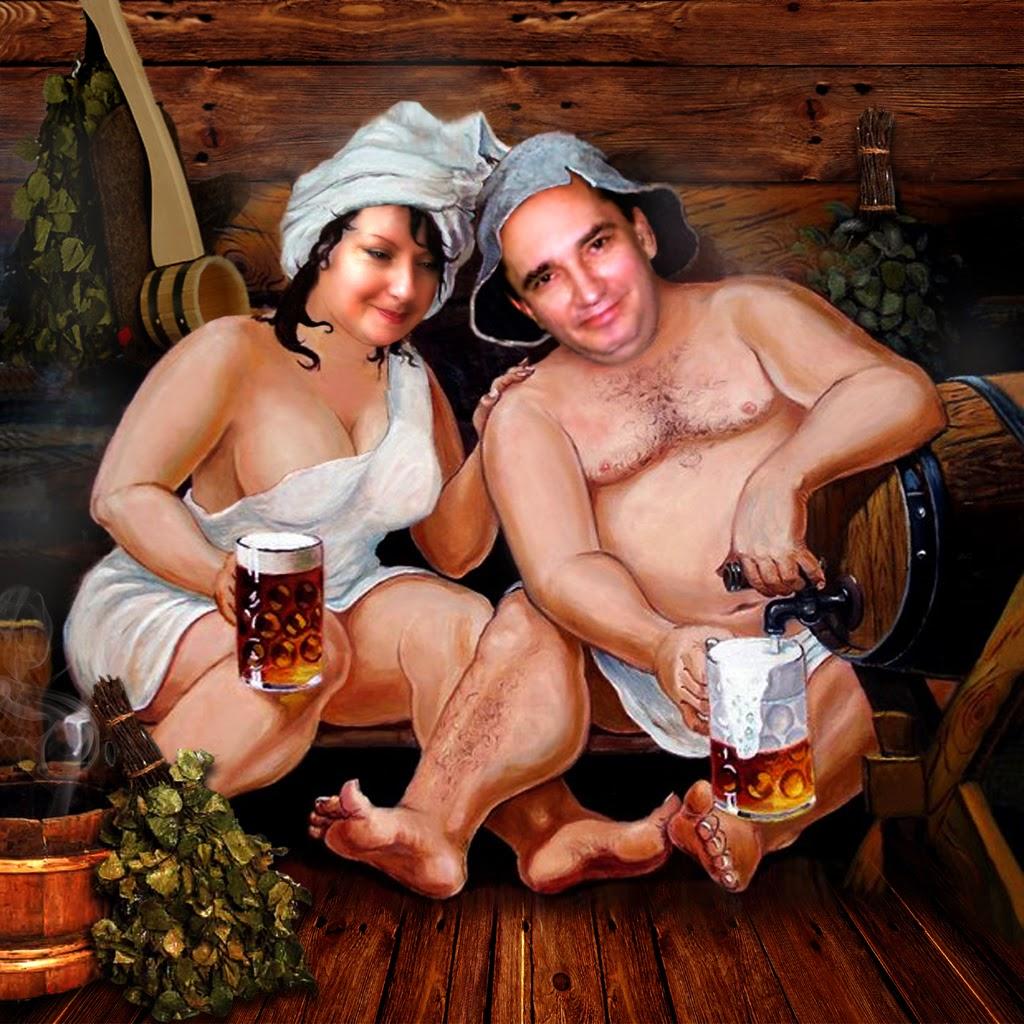 С подругой в бане фото 8 фотография