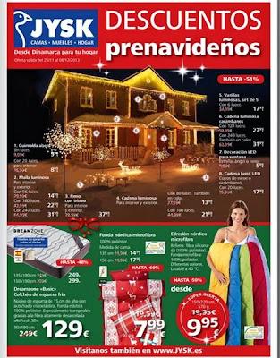descuentos prenavidad jysk del 25-11-2013