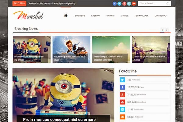 manshet-free-blogger-templates