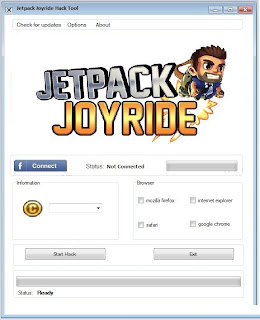 Jetpack Joyride Cheats and Hack