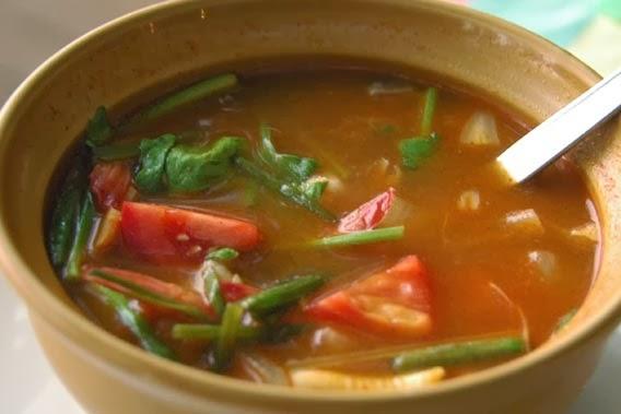 Resepi Tom Yam Ayam.