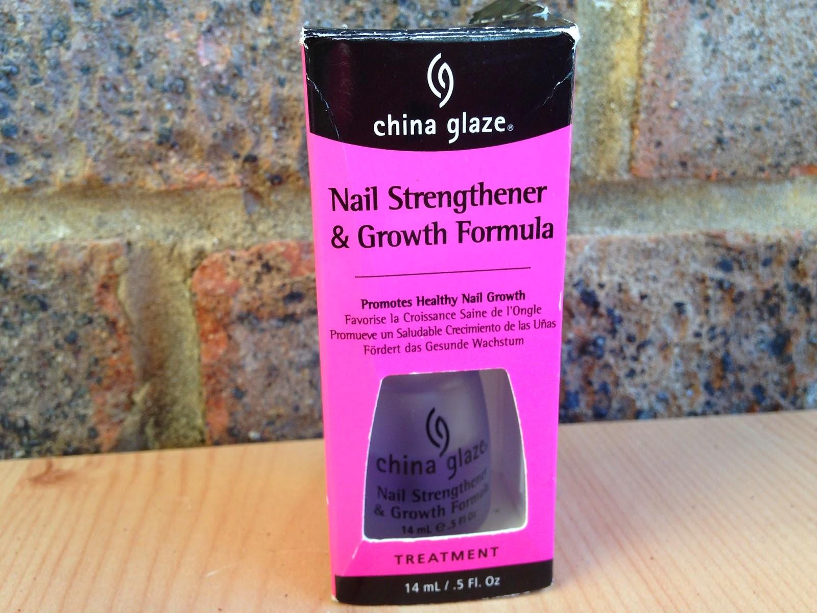 Ashleigh and Beth: China Glaze Nail Strengthener & Growth Formula