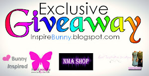 """Exclusive Giveaway By Cik Bunny"""