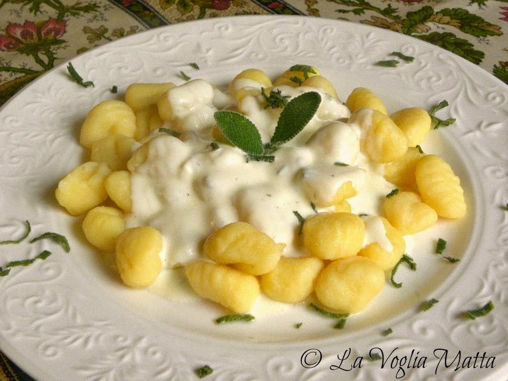 ricetta gnocchi di patate al Puzzone di Moena