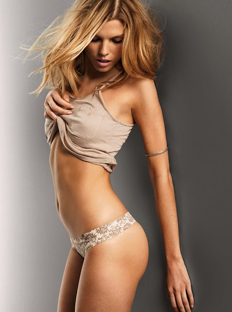 Maryna Linchuk Victorias Secret Lingerie Spring 2011