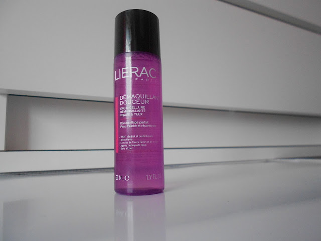 Lierac cleansing water micellar french skin care bioderma farmaline chemist