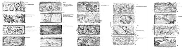 Storyboard - The Water Horse