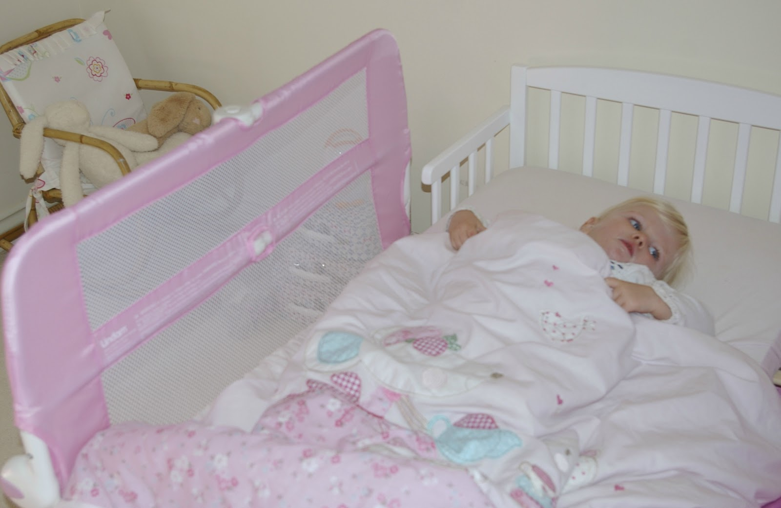 The toddler bed transition!