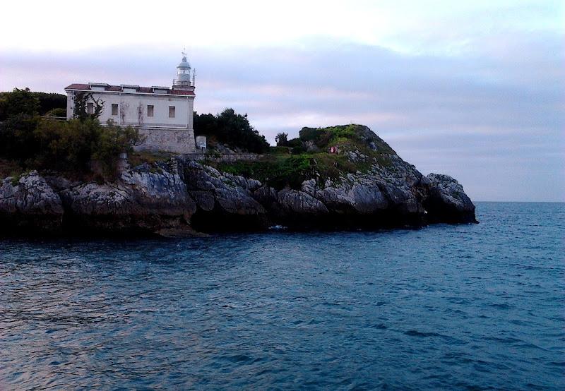 Faro de la Punta de la Cerda en Santander