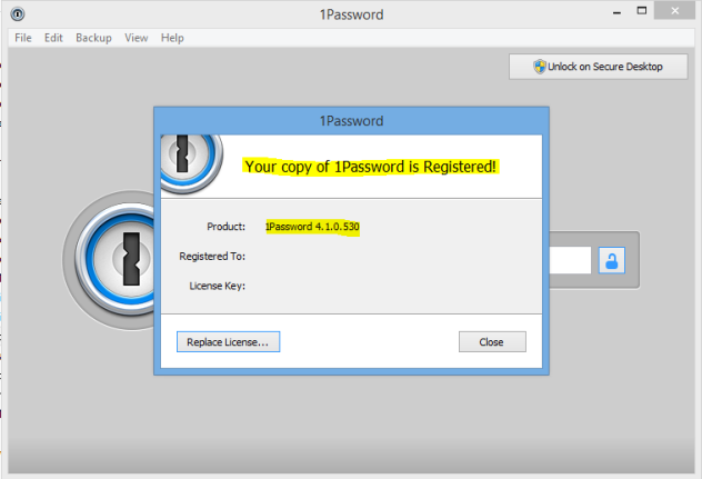 1Password v4.1.0 For Windows Full Patch
