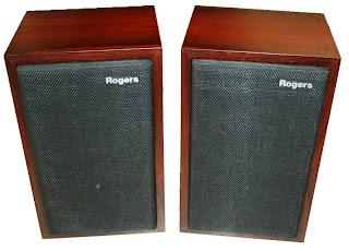 BBC Rogers LS3/5a speaker monitor 1970