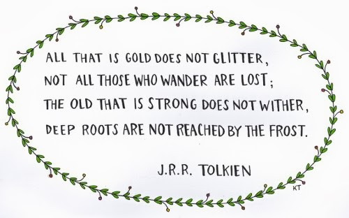 tolkien2Bquote - Winner Of English Literature Competition June 2014