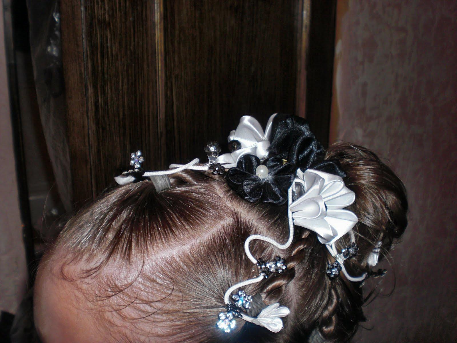 Прически для девочек на выпускной в детском саду фото косички