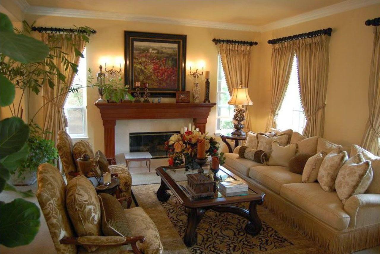 Decoración de interiores: Salón clásico.