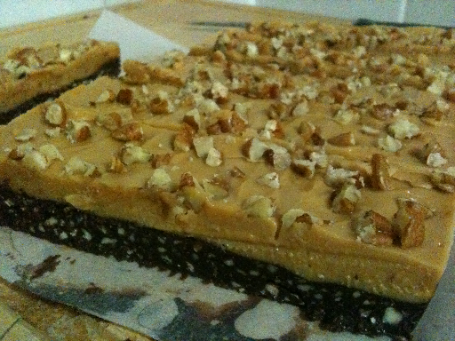 Pecan Peanut Butter Slice - Dairy Free