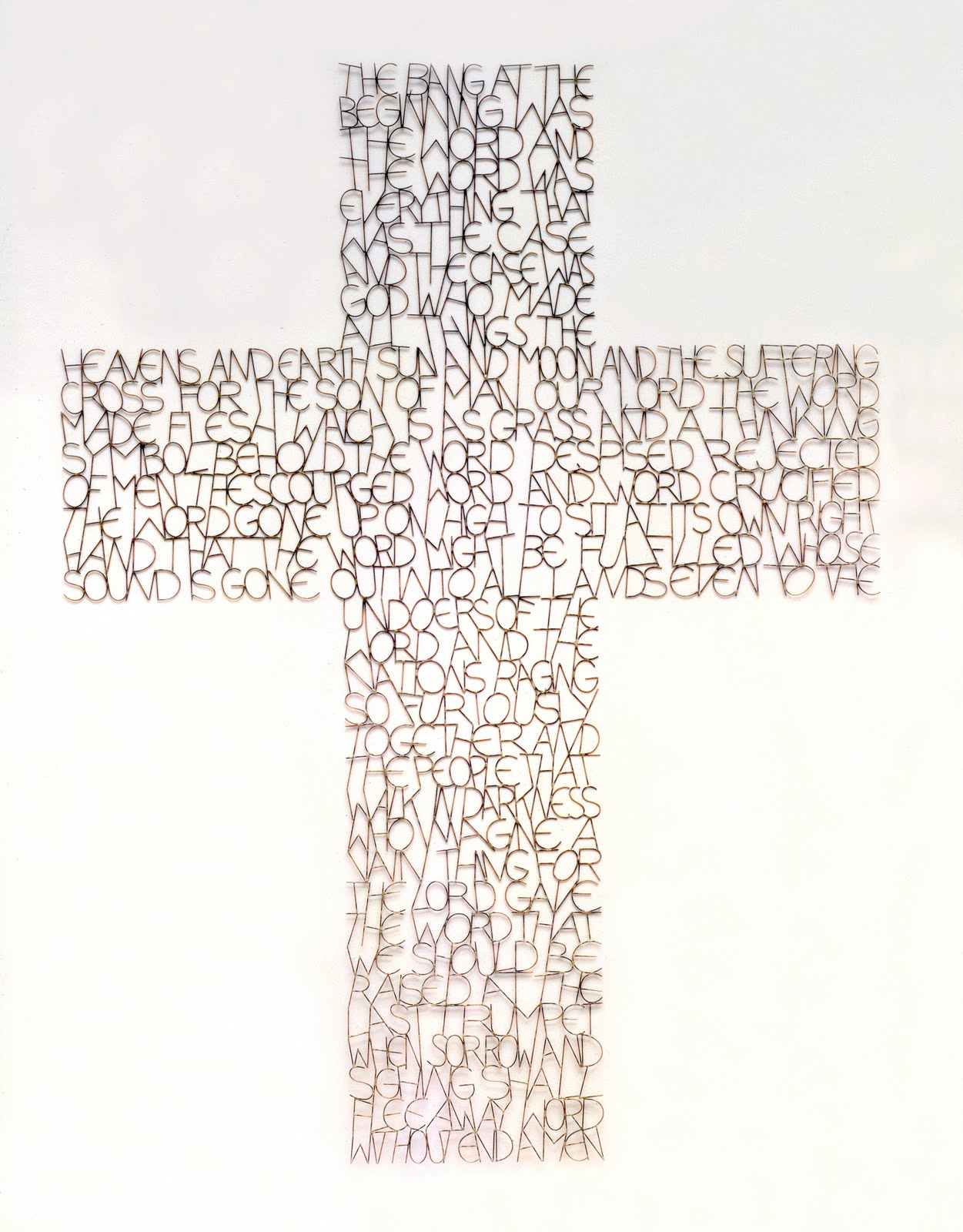 Tom phillips word cross word cross buycottarizona Choice Image
