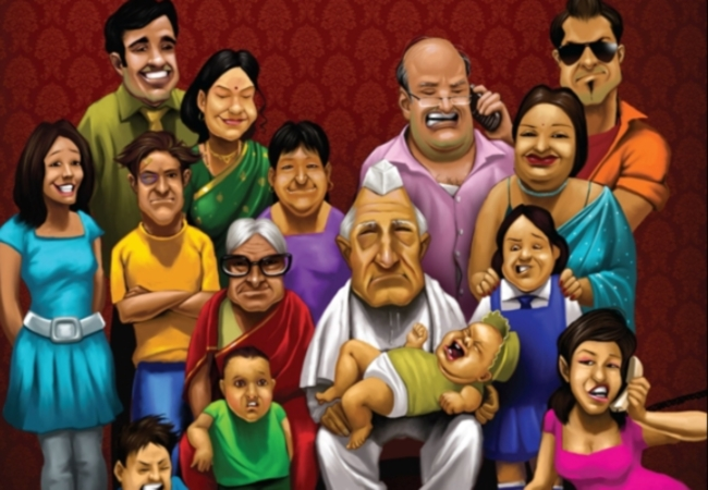joint family vs nuclear family In simple terms, the main difference between joint family and nuclear family is that joint family is a big family, whereas nuclear family is a small family.