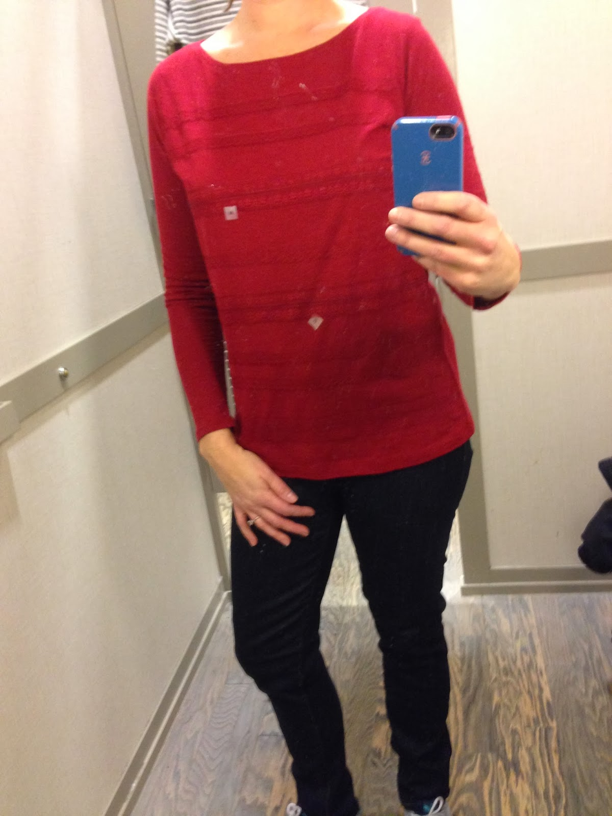 Dressing Room Red Shirt - Flotsam of the Mind