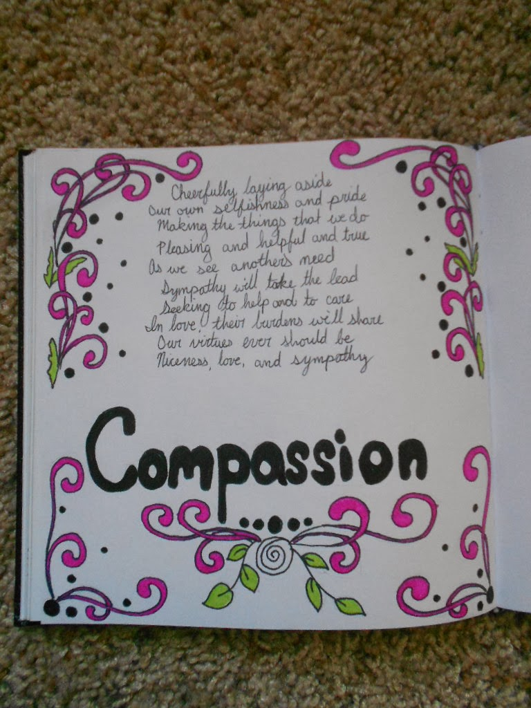 essay writing on compassion