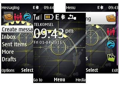 Dark theme for Nokia 6303i classic