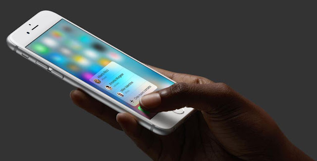 azioni 3d touch iphone 6s