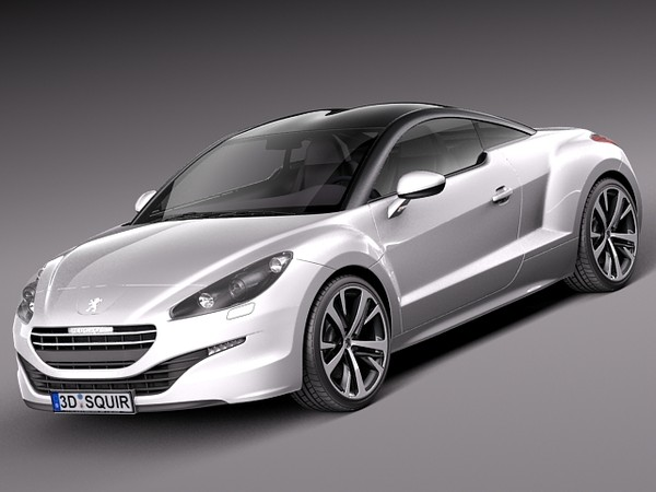 3D.ART.Reactor: 3D Model Peugeot RCZ 2013