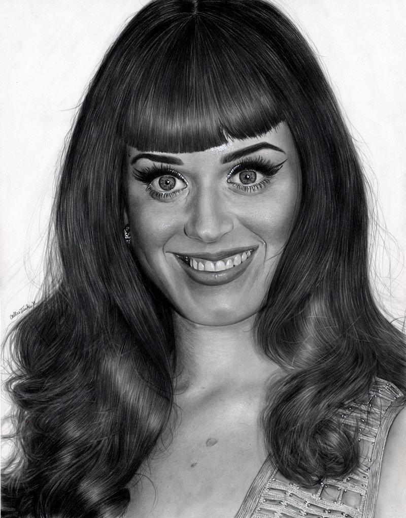 Dibujos realista a lápiz Callie Fink resubido