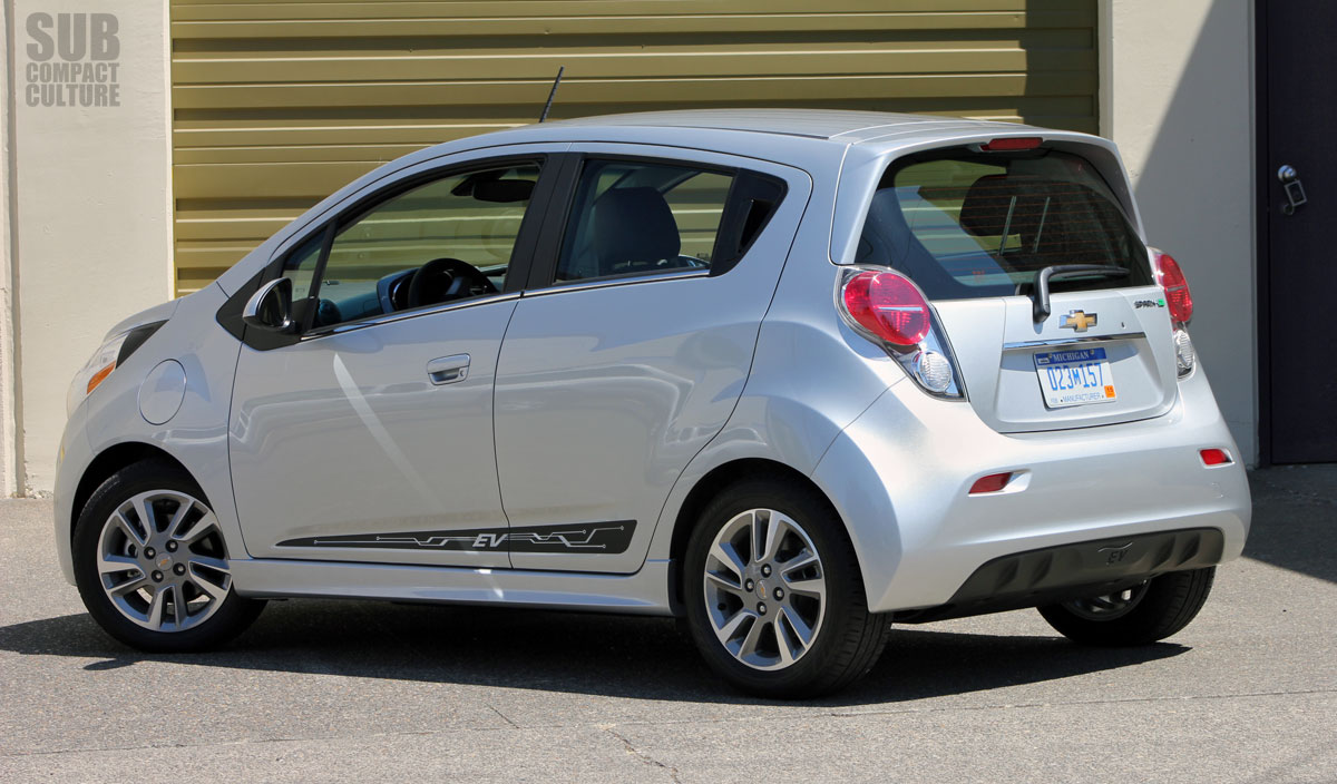 review 2014 chevrolet spark ev subcompact culture the. Black Bedroom Furniture Sets. Home Design Ideas