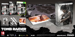 tomb raider survival edition europe Tomb Raider   Collector's Editions Announced