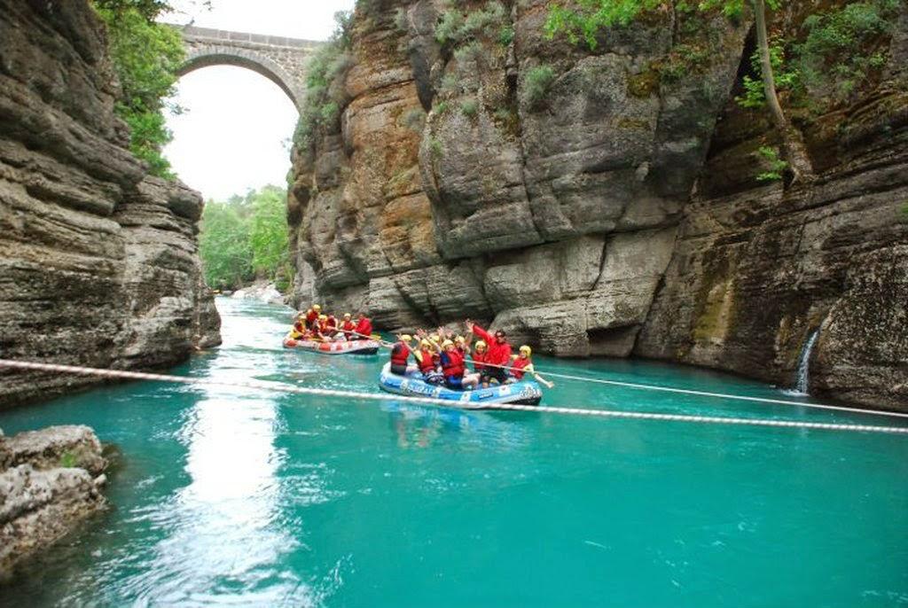 koprulu kanyon Antalya Turkey.