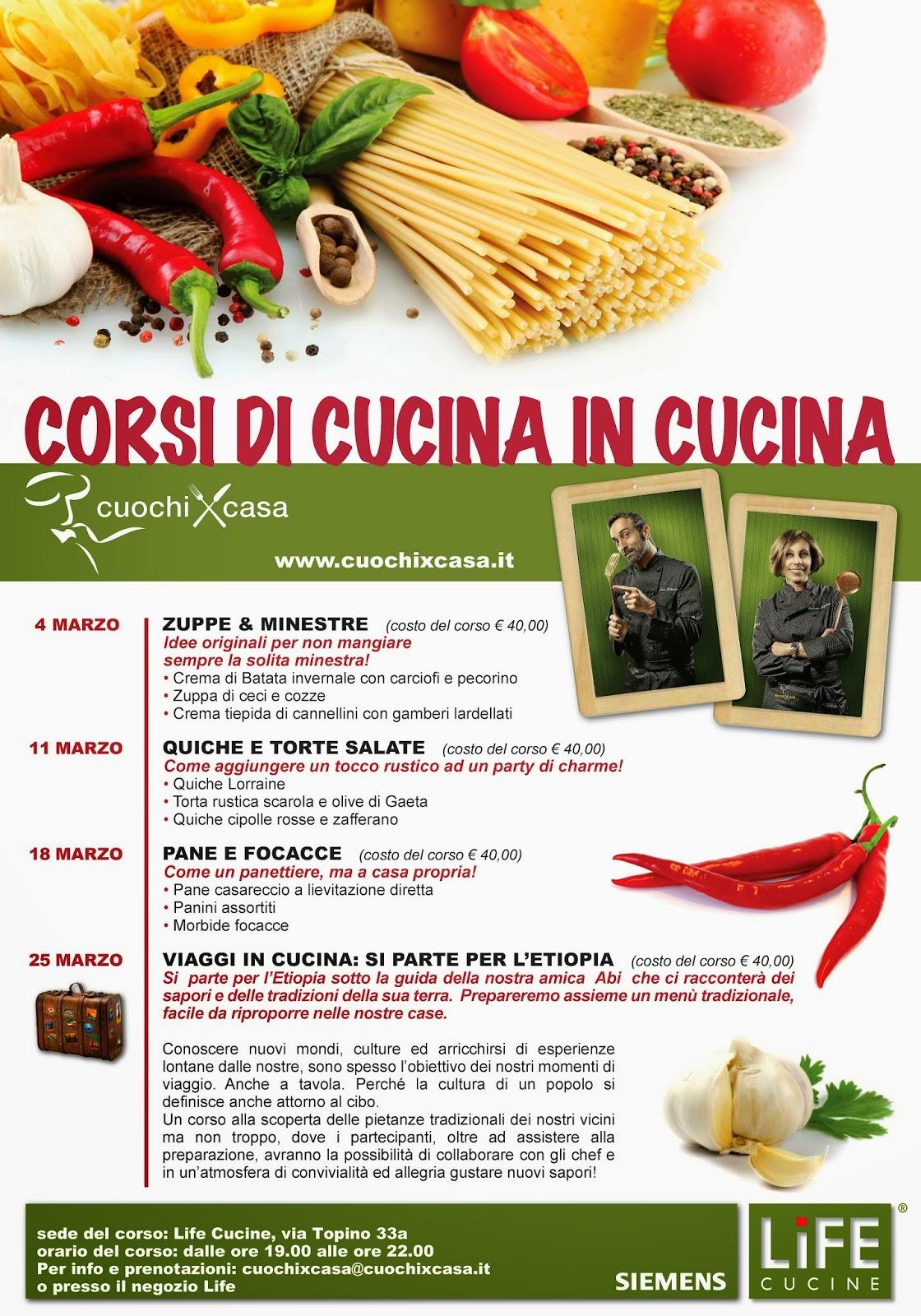 Disegno corsi di cucina a roma : CORSI DI CUCINA IN CUCINA CALENDARIO DI MARZO | Cuochi a domicilio ...