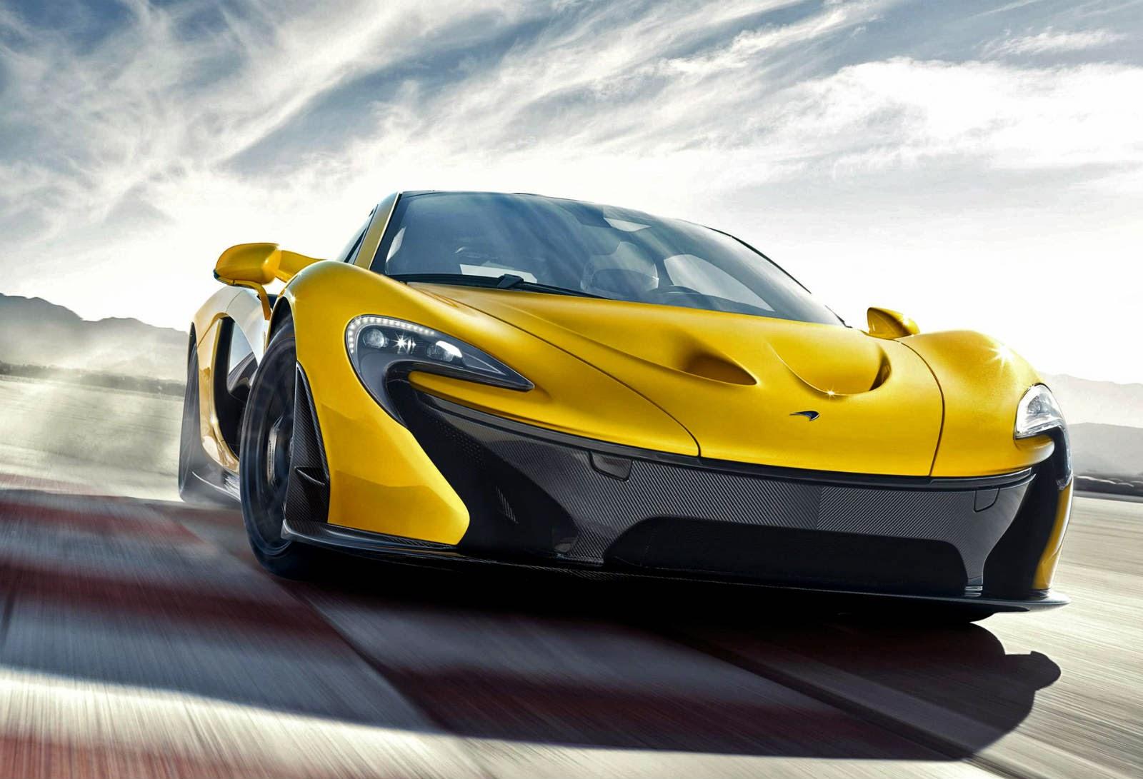 Coup d'oeil sur la McLaren P1