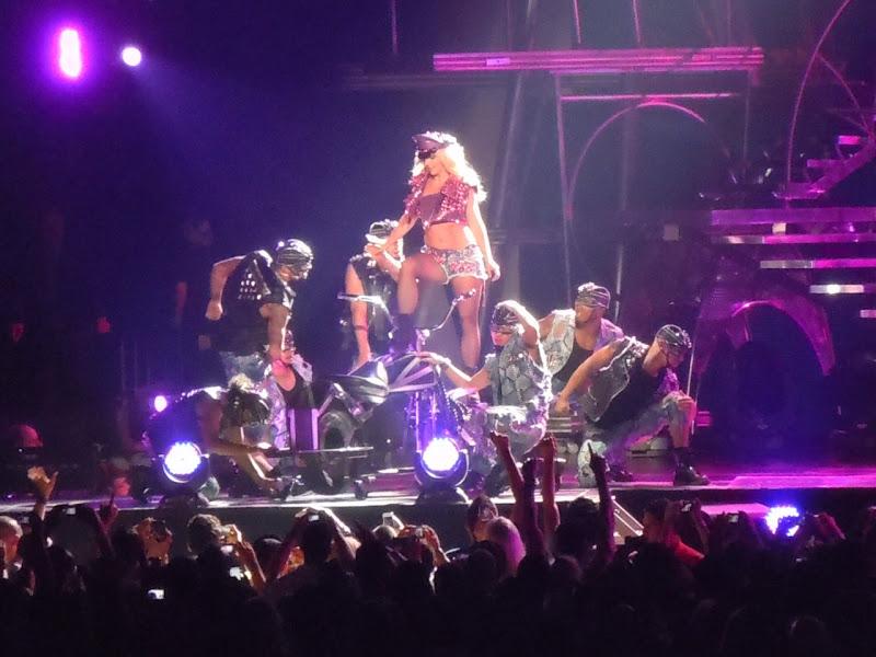 Britney Spears Femme Fatale biker chick