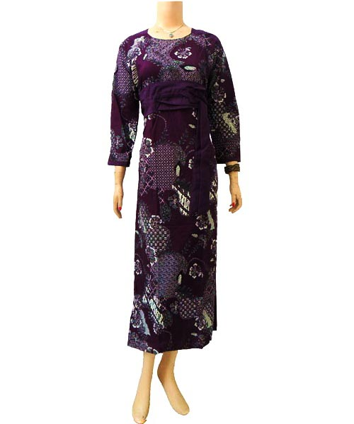 Dress Gamis Batik Dbg159  Butik Batik Solo