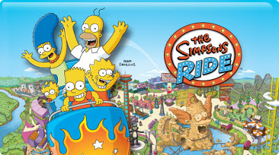 The Simpsons Ride Orlando Universal Studios Florida