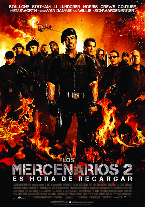 Los mercenarios 2 (2012) online